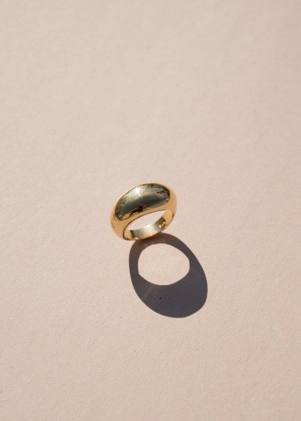 Siren Ring in Gold