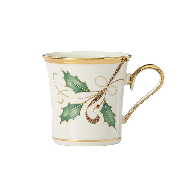 Lenox Holiday Nouveau Gold Mug
