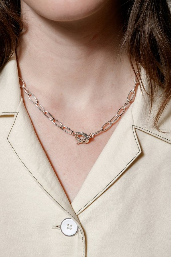 Wolf Circus TALIA CHAIN NECKLACE - silver