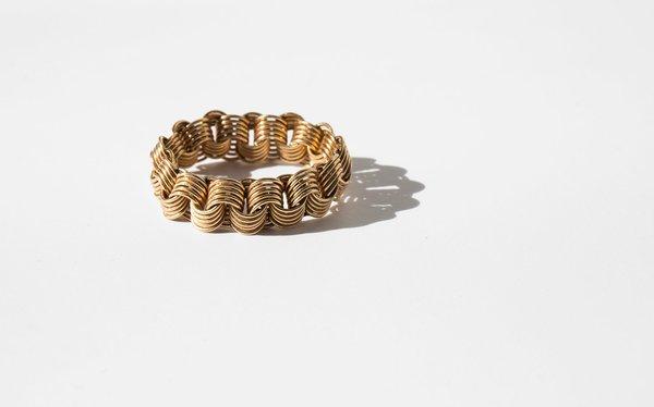 Kindred Black Criseyde Ring - 14k gold