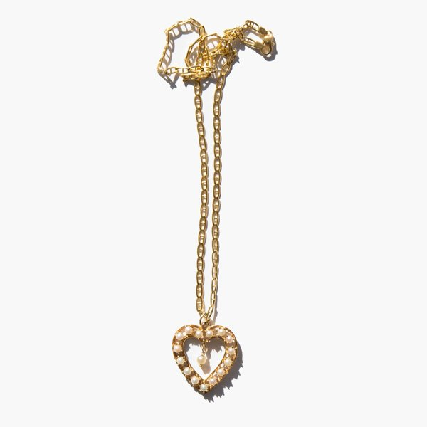 Kindred Black Last Time I Saw My Honey necklace - 14k gold