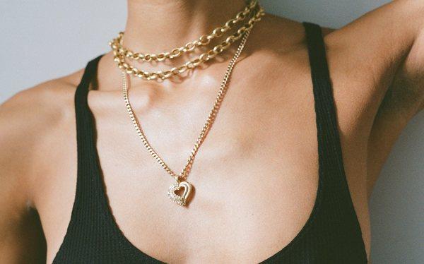 Kindred Black Love's Latest Breath necklace - 14k gold