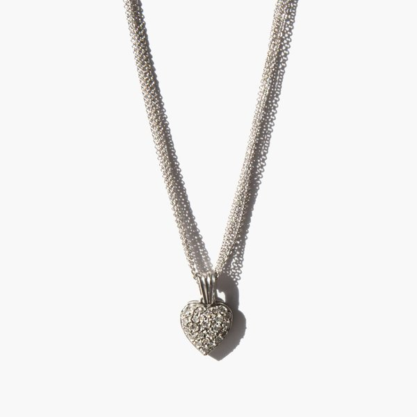 Kindred Black The Depth of My Want necklace - 14k white gold
