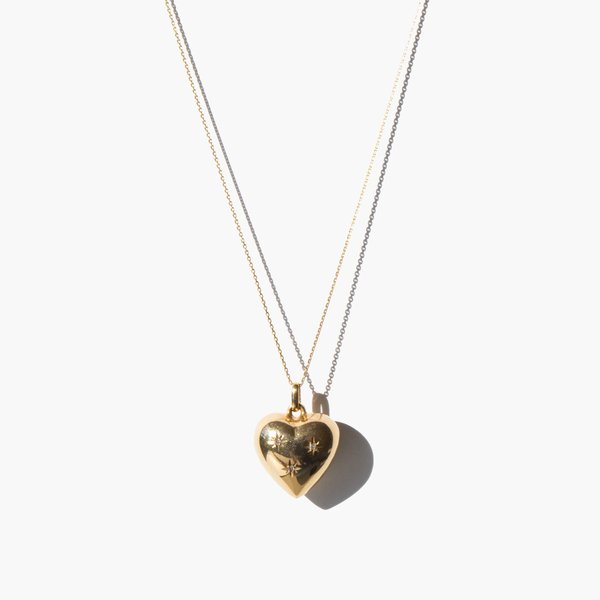 Kindred Black Vast Eternity necklace - 14k gold/diamond