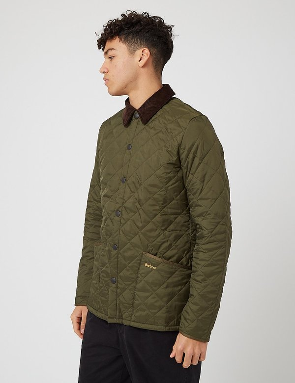 Barbour Beacon Broad Wax Jacket - Archive Olive