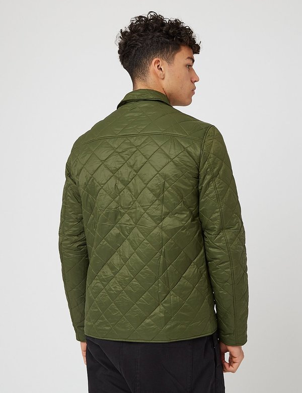Barbour Tember Quilt Jacket - Rifle Green