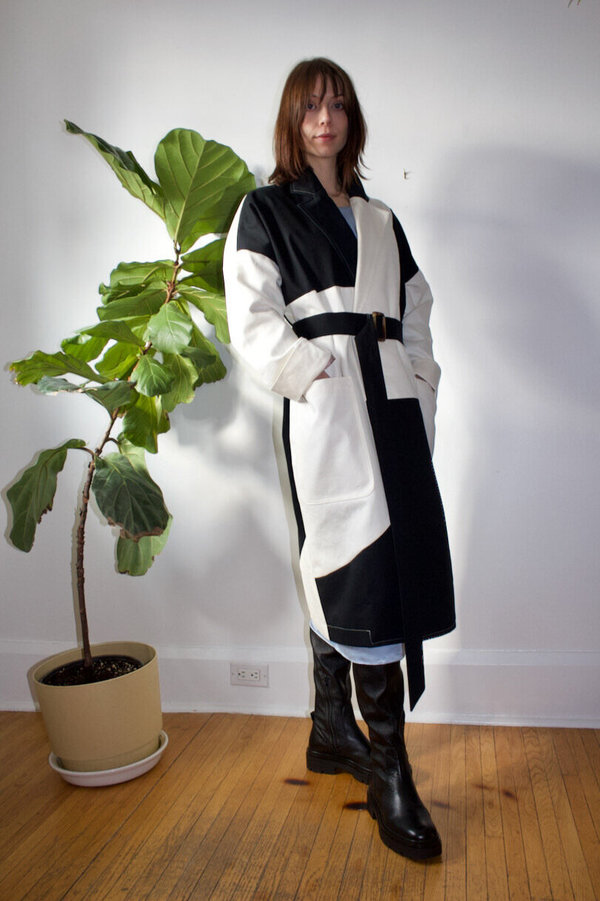 Ewanika Patchwork Trench