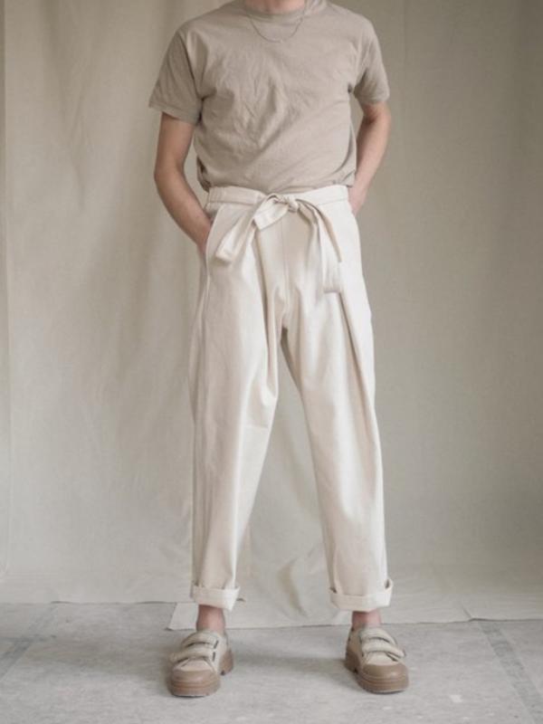 Atelier Trousers Cream | Aure