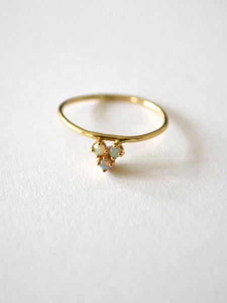 Amarilo Tesselate Ring - 14K Gold