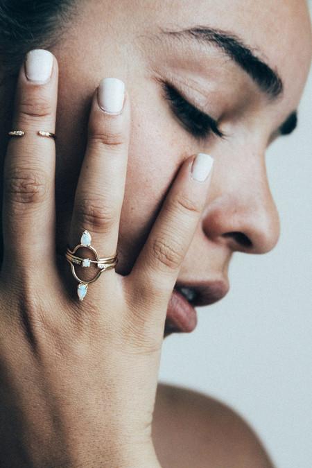 Amarilo Tristen Ring - Gold