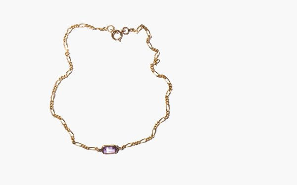 Vintage Centuries of Yearning Anklet