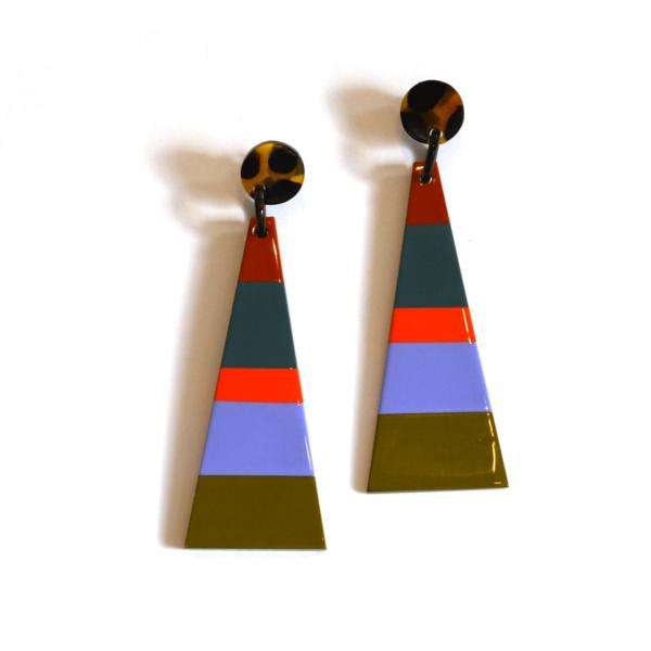 Sunshine Tienda - West Triangle Earrings