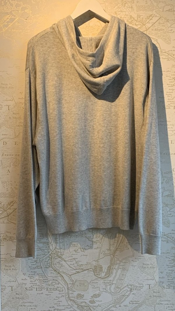 Kerri Rosenthal Olive You Love Hoodie - Gray