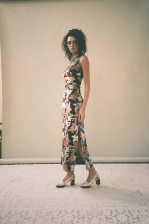 ECKHAUS LATTA Floral Shrunk Dress