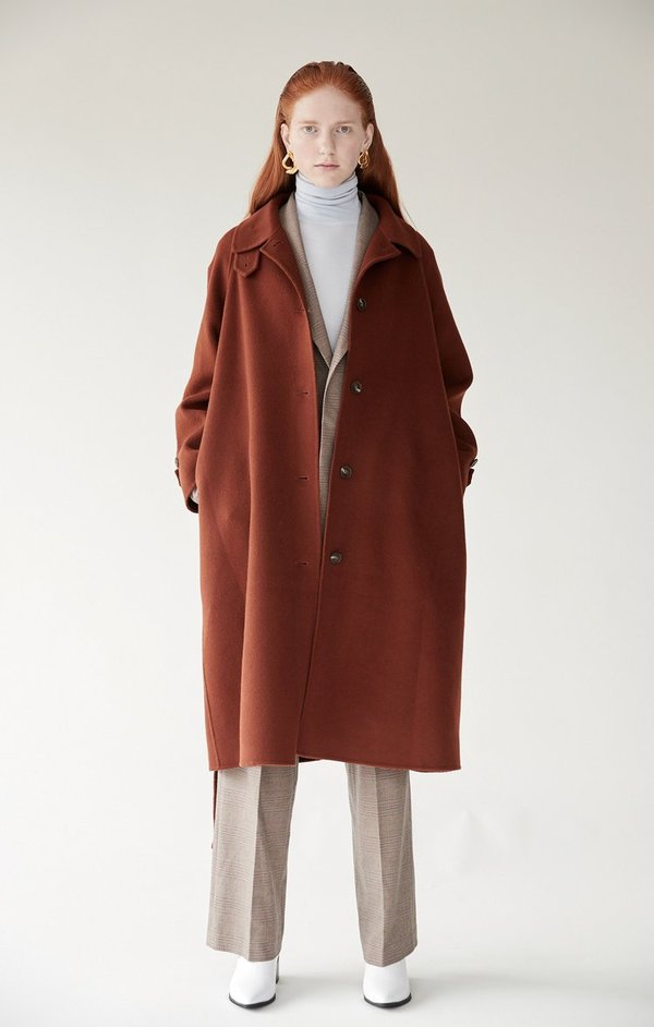 Mijeong Park Handmade Wool Coat
