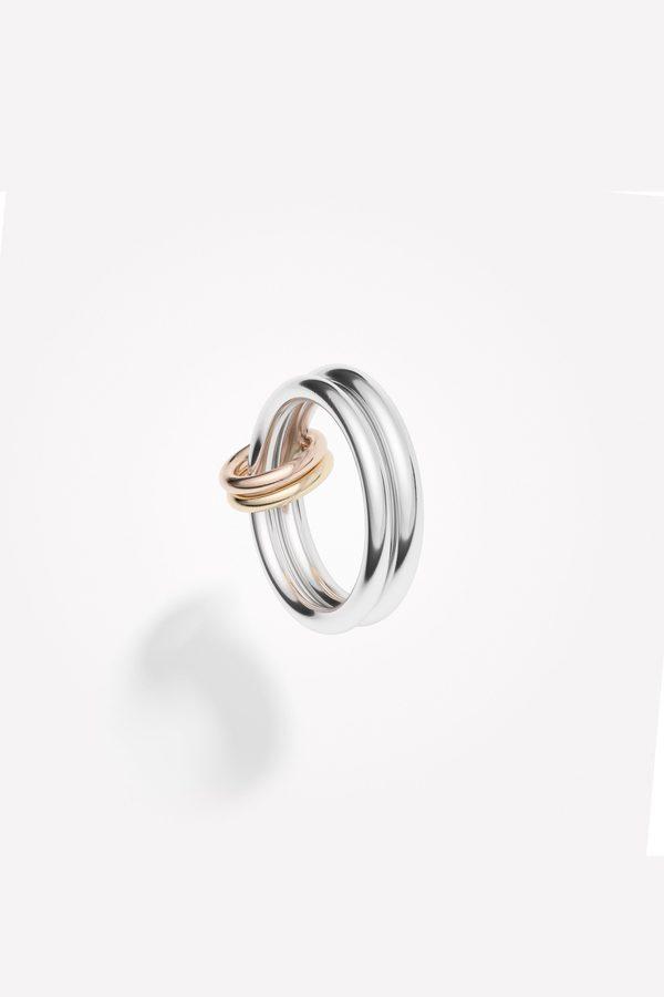 Spinelli Kilcollin Calliope Ring - Silver/Gold/Rose
