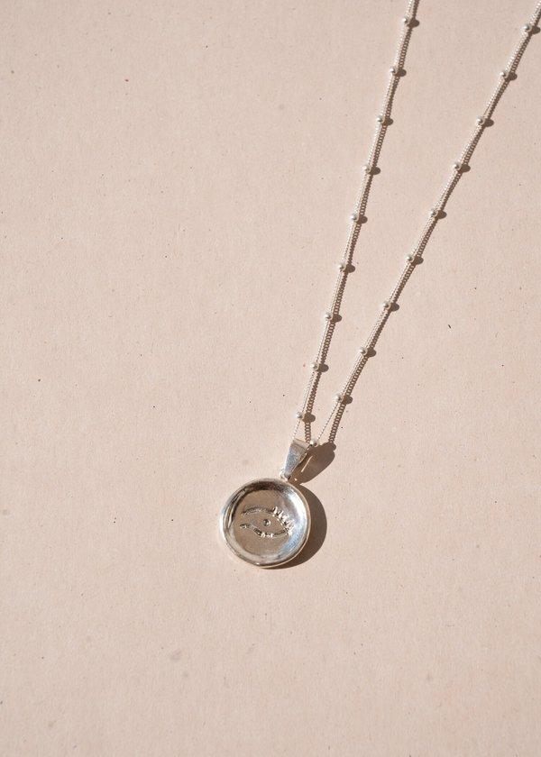 Cornelia Necklace in Silver