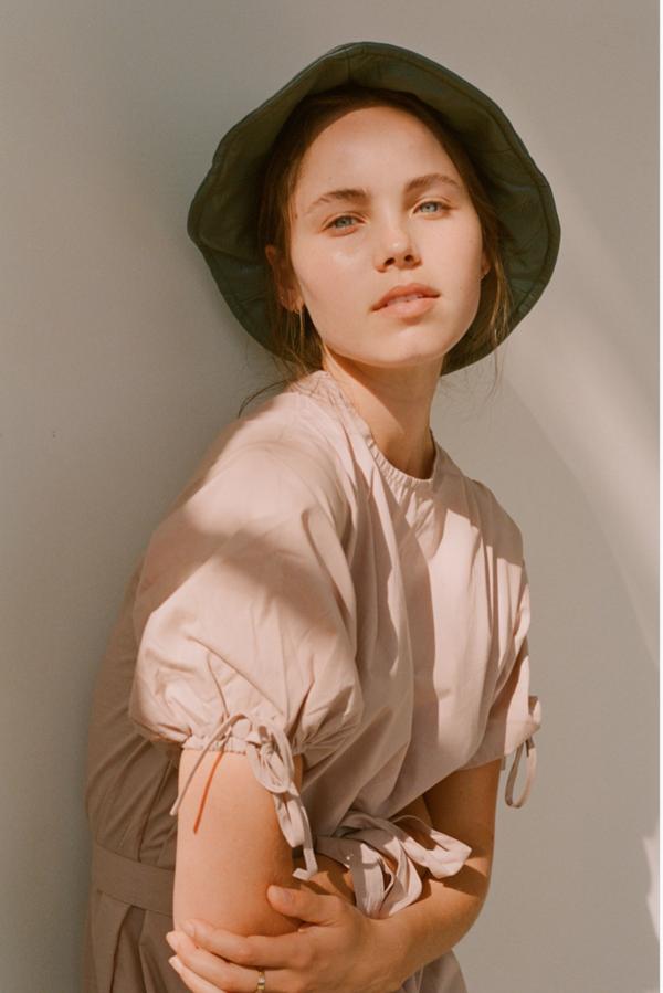 Wellington Factory Frankie Dress - Natural beige