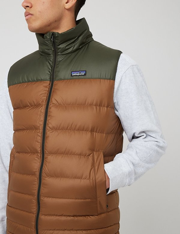 Patagonia Hi-Loft Down Vest - Owl Brown