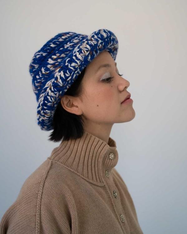 Ajaie Alaie Crazy Bucket Hat - Ocean Waves