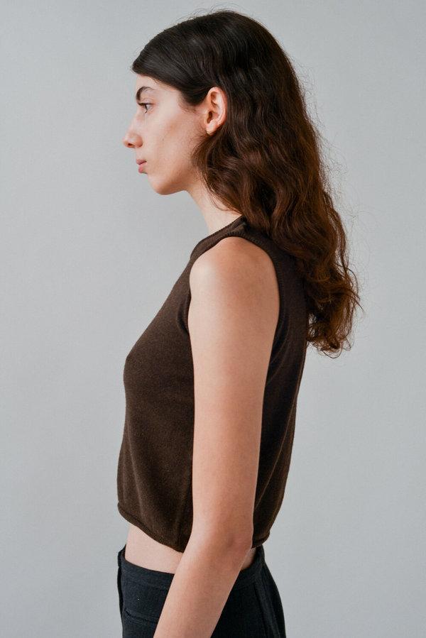 Miu Miu | Crop Sweater Tank