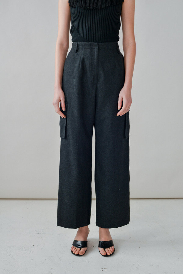 Ralph Lauren | Wool Utility Pant