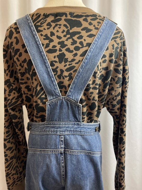 [pre-loved] Citizens of Humanity Button Front Overalls - blue