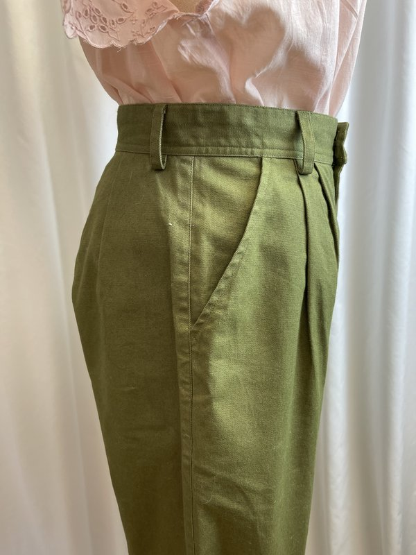 [Pre-loved] Tribe Alive High Waisted Utility Pant - Green