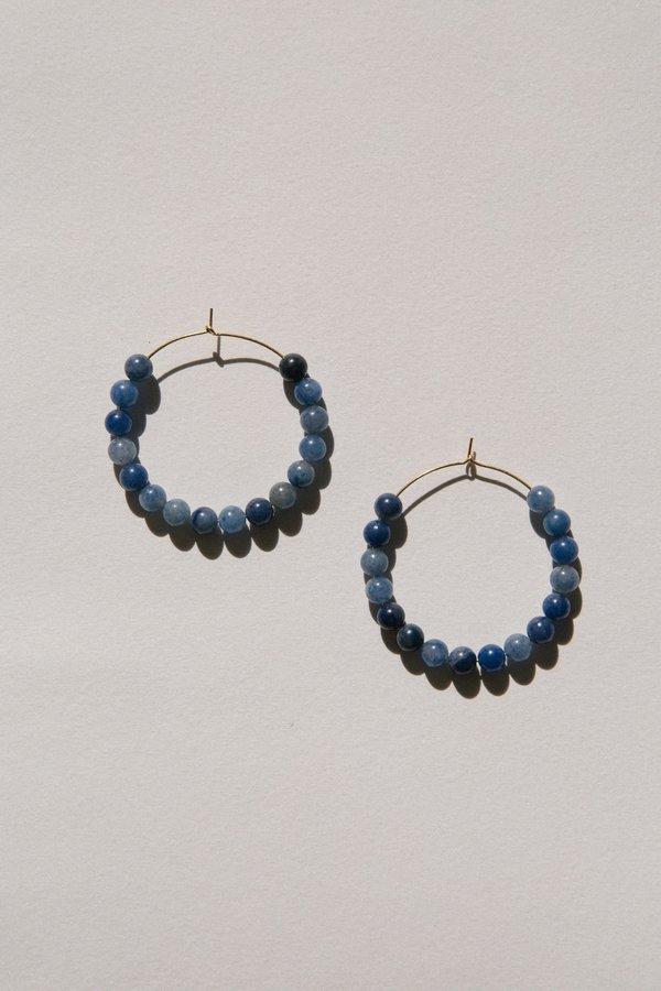 Vermeer Cilia hoops - Blue