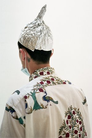 Engineered Garments Cotton Lawn Camp Shirt - Natural Peacock Print
