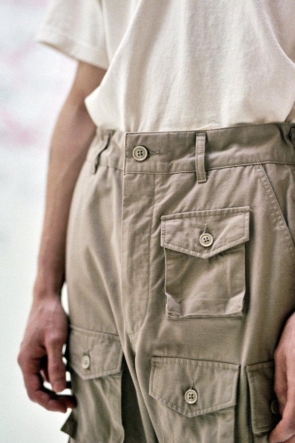 Engineered Garments FA Cotton Ripstop Pant - Khaki