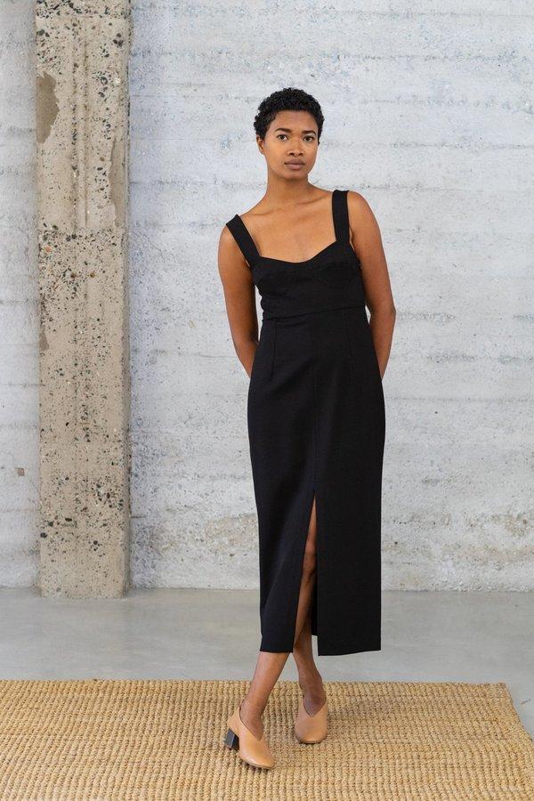 Waltz Bralette Dress - Black