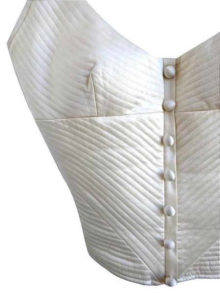 Vintage  Valentino Bustier - Ivory