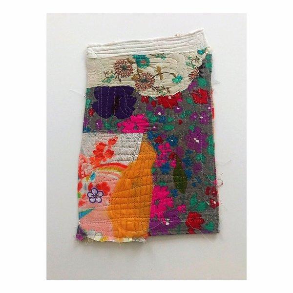 """""""Color Study B"""" Textile Art"""