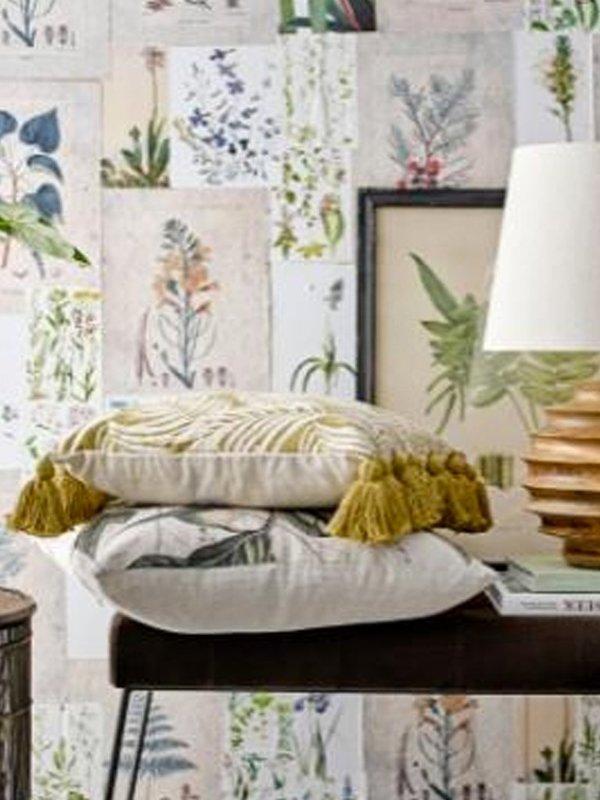 Bloomingville Linen Cushion - Nature