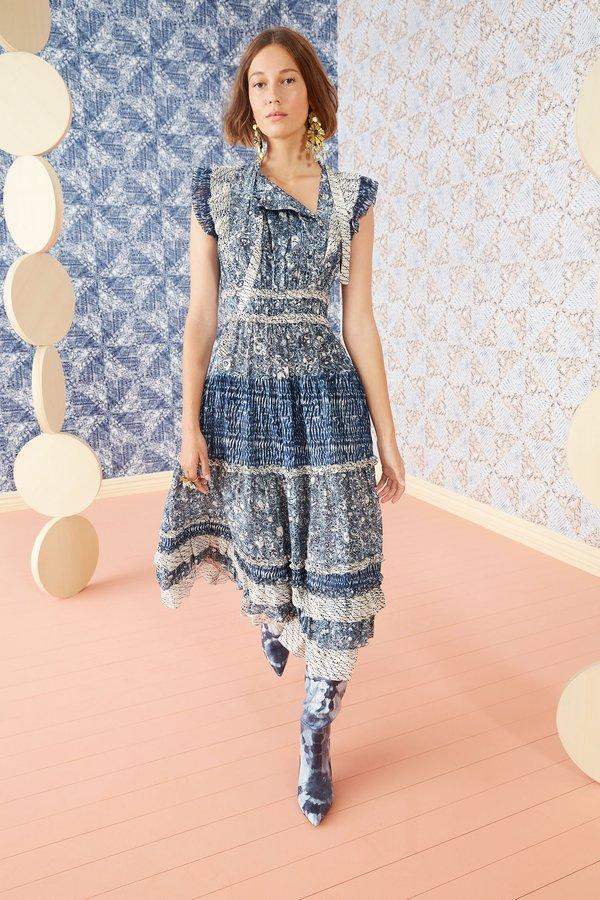 Ulla Johnson Kiri Dress - Indigo
