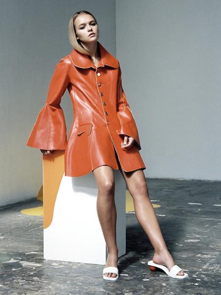 JH.Zane Twiggy Coat - Orange