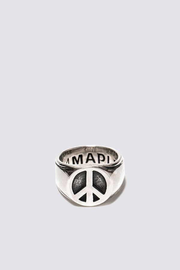 MAPLE Peace Ring - Sterling silver