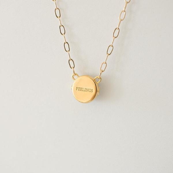 Merewif Feelings Necklace - Gold
