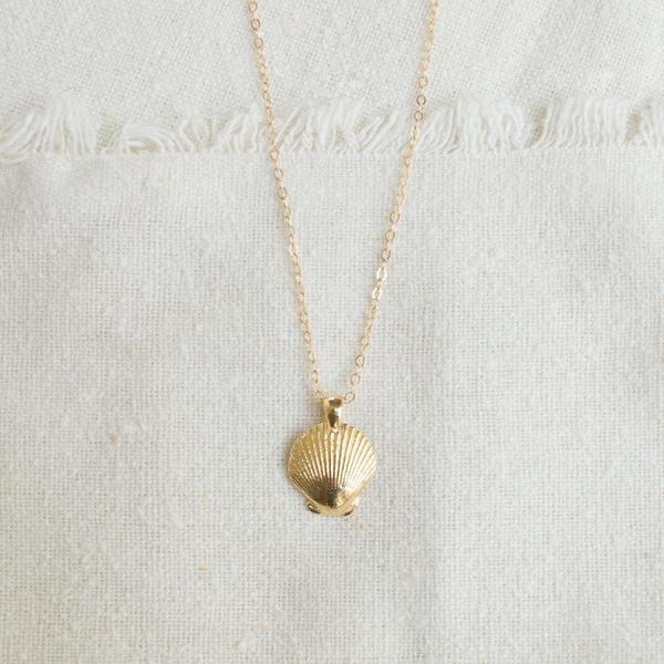 Merewif Token Necklace - Gold
