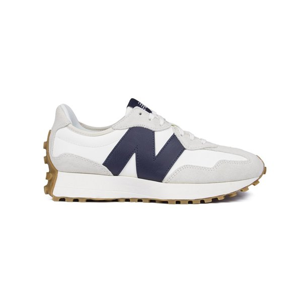 New Balance 327 Suede Sneaker Off White