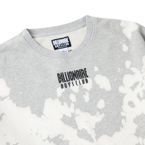 Billionaire Boys Club BB Straight Font Crewneck - Gray