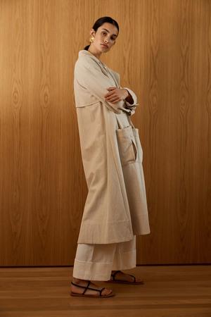 St. Agni Neda Trench Coat - Tan