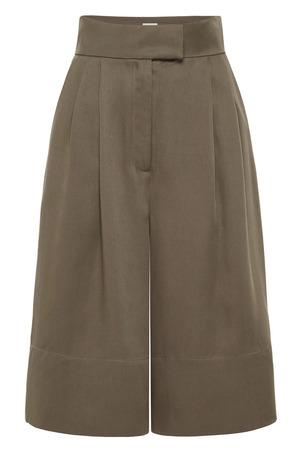 St. Agni Ode Tencel Shorts - Olive