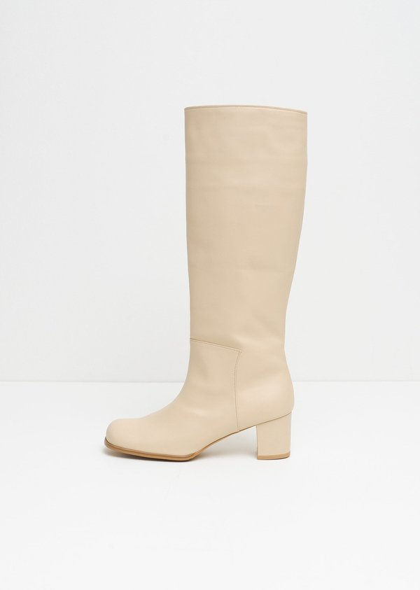 Amomento New Long Boots - Beige