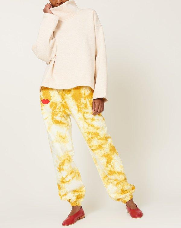Clare V. Sweatpants - Marigold Cloud Tie Dye