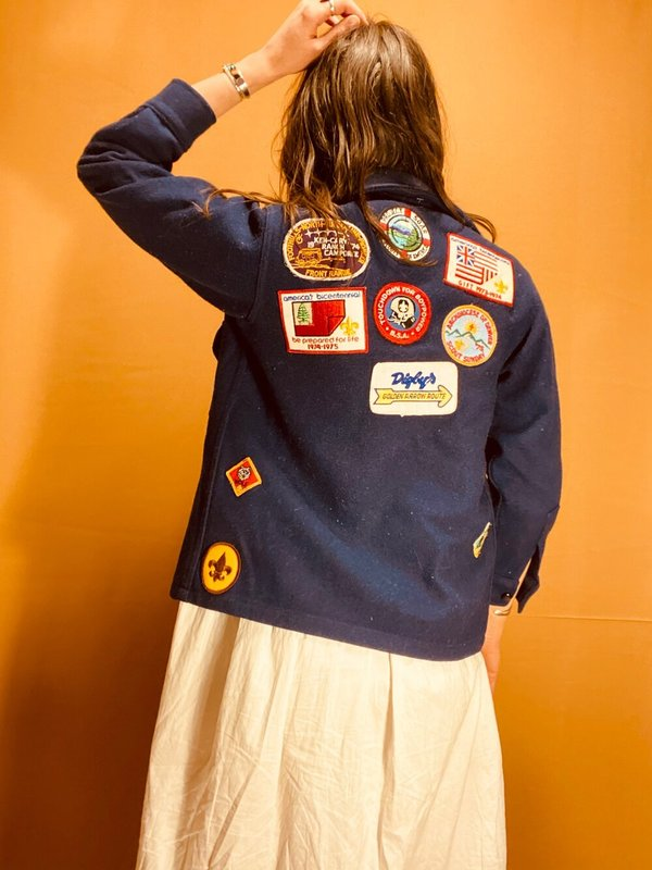 SCOUTS HONOR PATCH JACKET