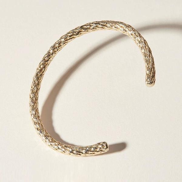 COG Splice Cuff Bracelet - Gold