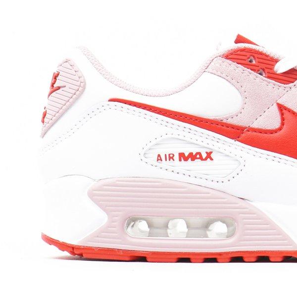 "WOMEN'S AIR MAX 90 QS ""WHITE/UNIVERSITY RED"""