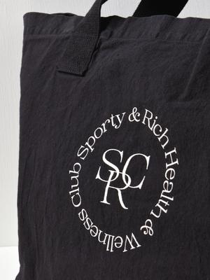 Sporty & Rich SRHWC Tote - Black/Beige
